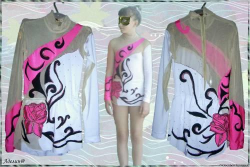 Купальник для художественной гимнастики - Шитье - Галерея - Бисер и шитье
